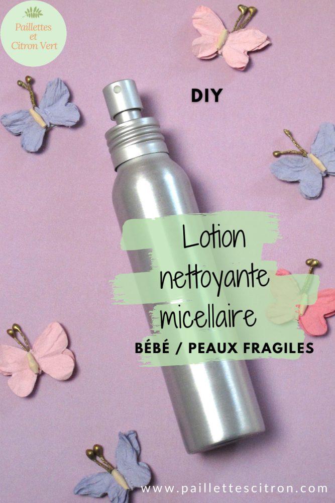 Lotion nettoyante micellaire