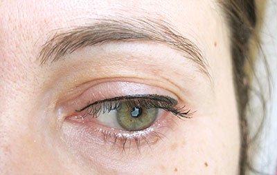 Eyeliner et mascara avril