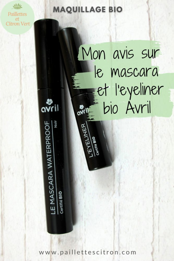 Eyeliner mascara bio Avril