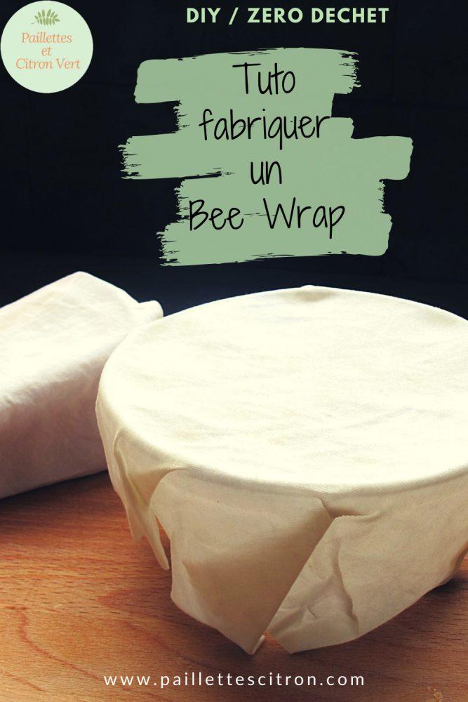 Tuto Bee Wrap