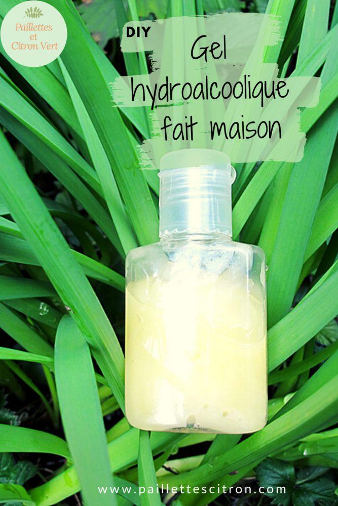 DIY gel hydroalcoolique