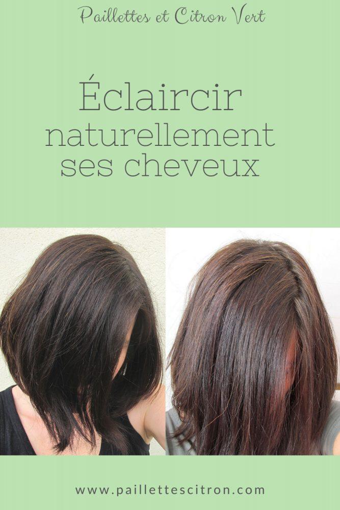 Eclaircir naturellement ses cheveux