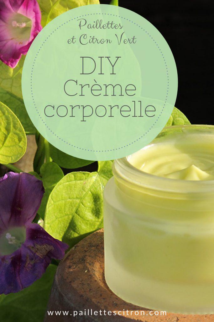 DIY Crème Corporelle nourrissante