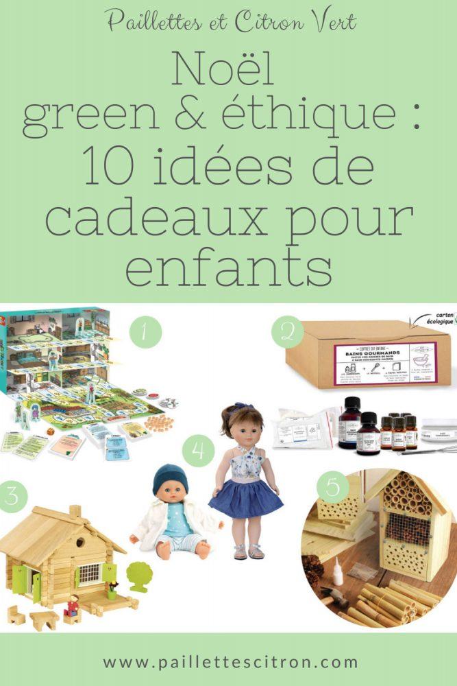 Cadeaux éthiques et green enfants