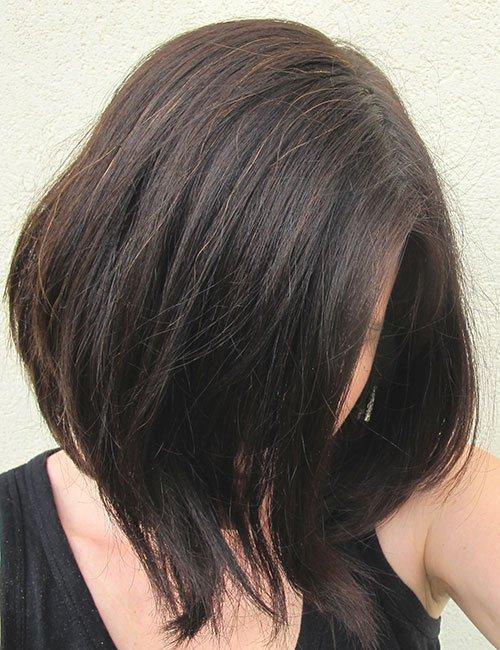 éclaircir cheveux naturellement - avant