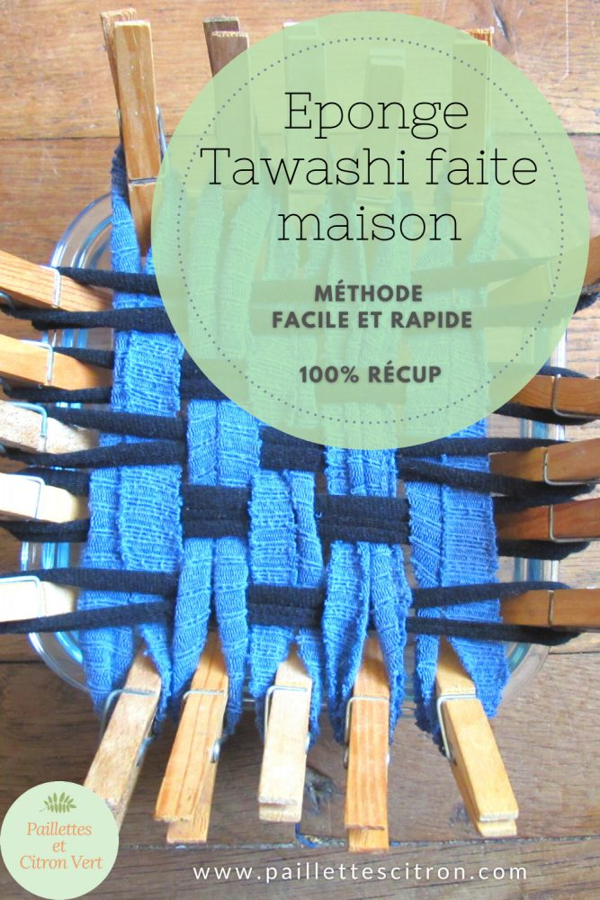Fabriquer une éponge Tawashi maison