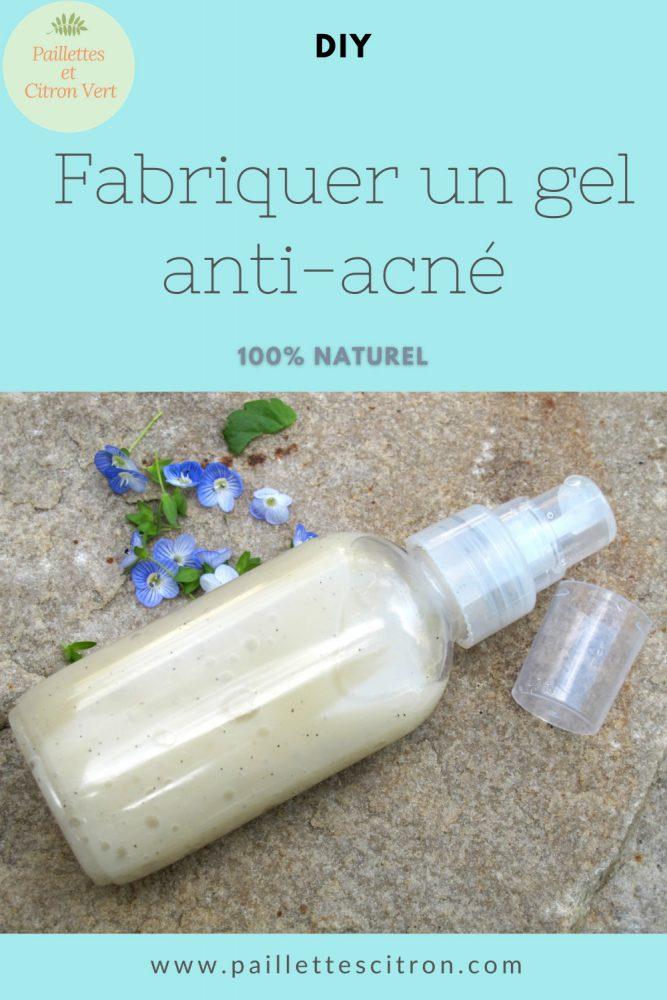 Gel anti-acné diy
