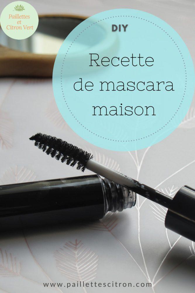 mascara home made