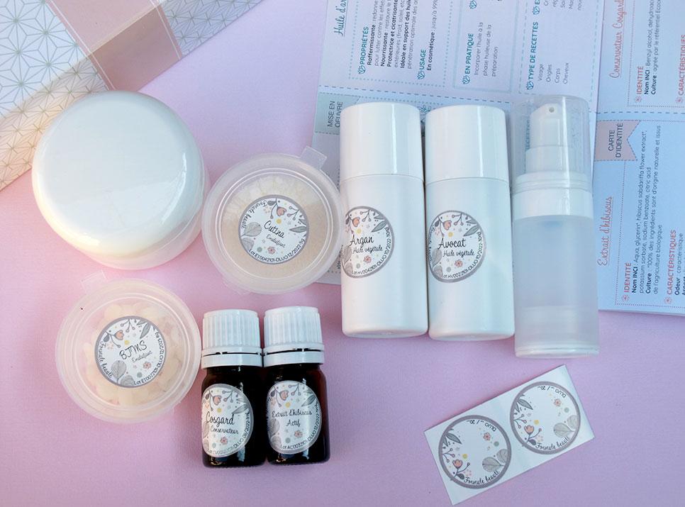 coffret cosmetique maison Formule Beauté Emulsions