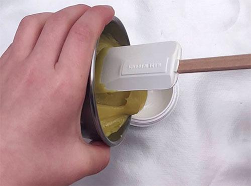 préparation masque cheveux